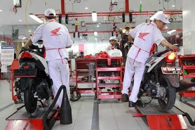 Perawatan Motor Matic